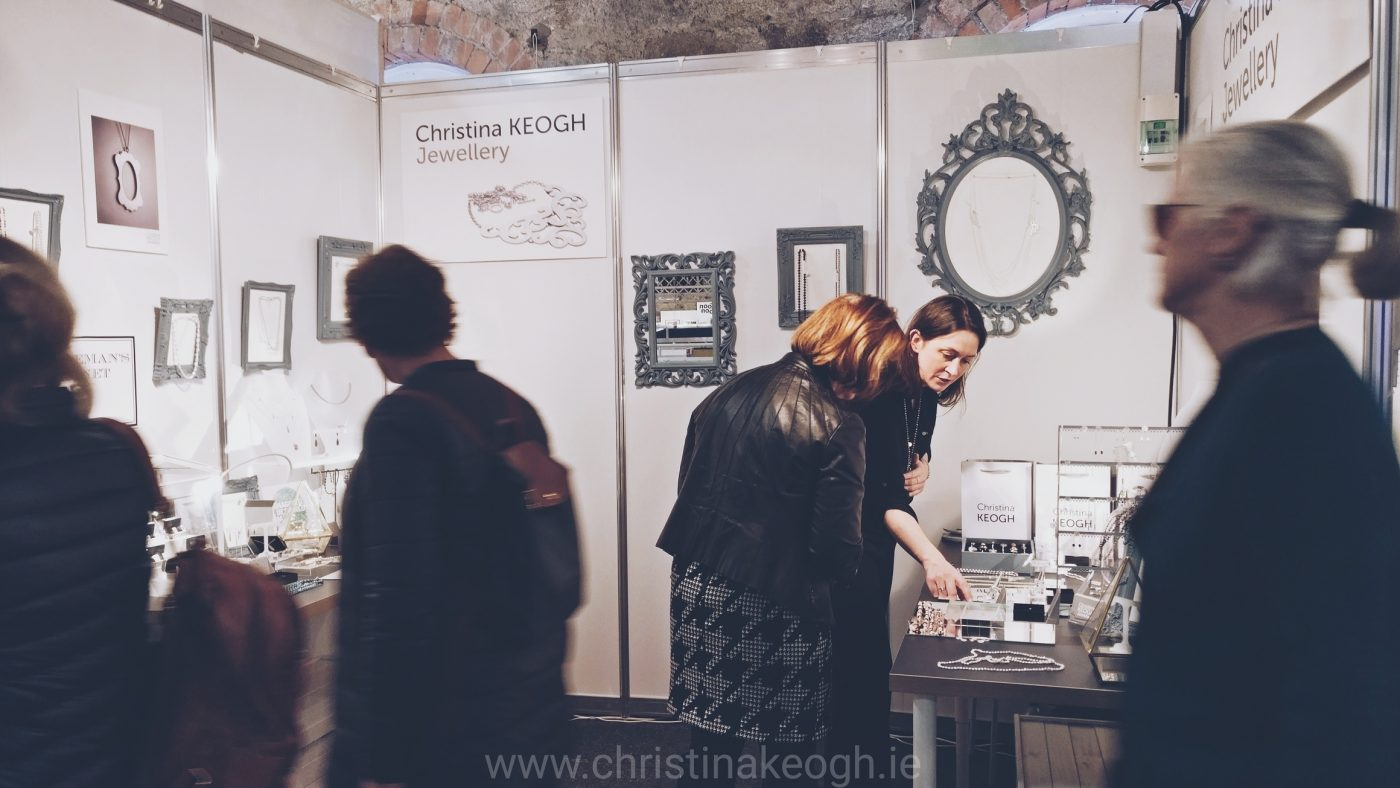 Christina Keigh Jewellery at Dublin's RDS Christmas Craft Fair - Gifted